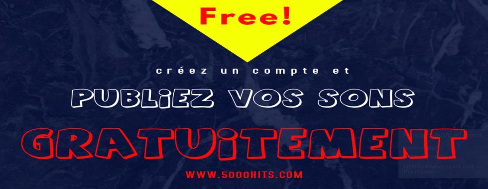 Ouvrez un compte et publiez vos MP3 gratuitement !