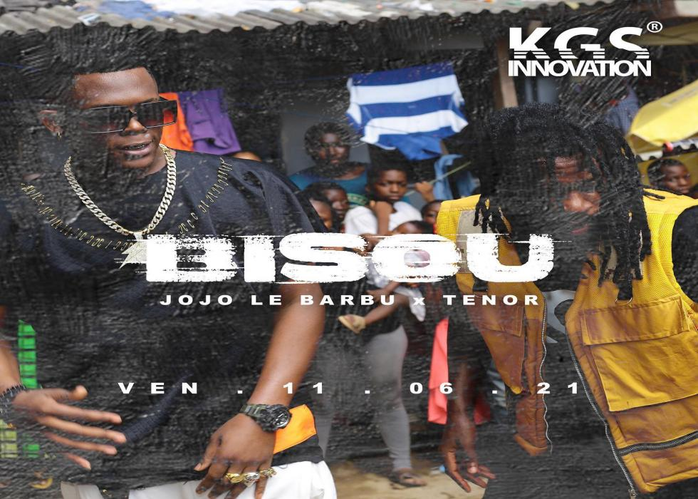 Jojo le Barbu - Bisou (feat. Tenor)