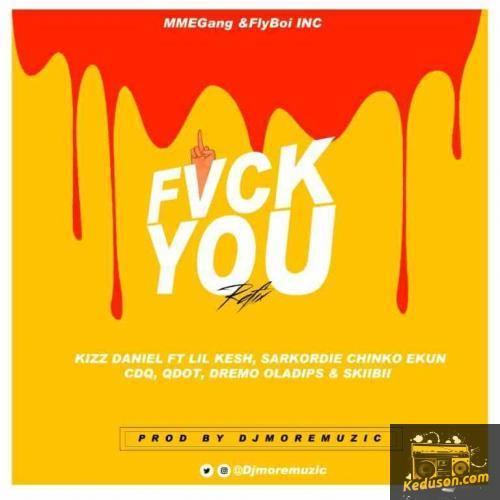 Listen and Dwonload Dj MoreMuzic - Fvck You (Refix) [feat