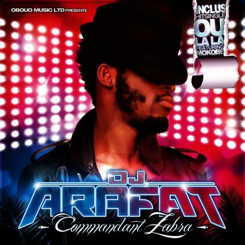 DJ Arafat COMMANDANT ZABRA album cover