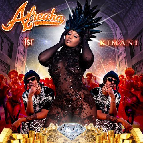 Fki 1st, Victoria Kimani Afreaka album cover