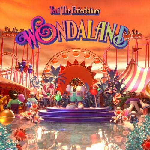 Teni WONDALAND album cover