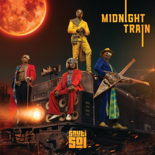 Sauti Sol Midnight Train album cover