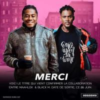 Maahlox Le Vibeur Merci (feat. Black M) cover