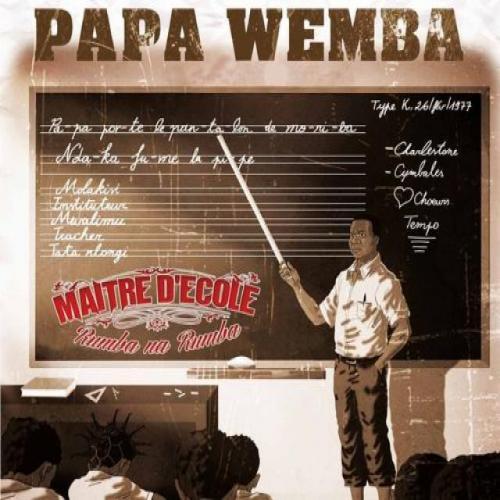 Papa Wemba Maitre d'école - CD1