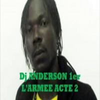 Anderson 1er L'armée du boucan cover